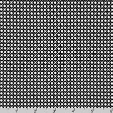 BY YARD-Hello Tokyo Diamond Black Robert Kaufman Fabric ALL-14001-189 Ebony