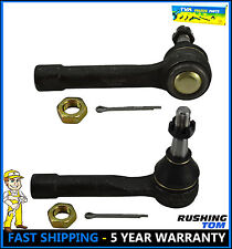 (2) Front Outer Tie Rod Ends Pair For 99-06 Chevrolet Silverado 1500 GMC ES3493T