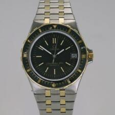 Omega Seamaster 120 Plongeur Jacques Mayol Stainless Steel & Gold Quarts 1980
