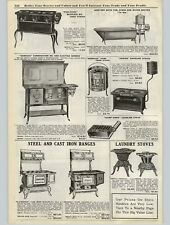 1923 PAPER AD Sanitary Bath Tub With Water Heater Nesco Stratford Oil Stoves