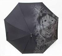 NEW Ryu ga Gotoku Yakuza Umbrella Goro Majima Black Game 58cm Free Shipping F/S
