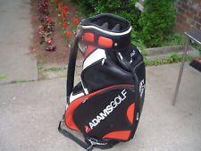 "Adams 10"" Staff Golf Bag w Rain Hood Used on the PGA Tour"