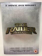 Lara Croft - Tomb Raider/Tomb Raider 2 - The Cradle Of Life (DVD, 2004, Box Set)