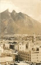 c1940 Real Photo Postcard; Vista Parcial de Monterrey N.L. Mexico Garcia L Fot