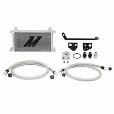 2015-2016 Ford Mustang Eco Boost 2.3L Mishimoto Aluminum Oil Cooler Kit Silver