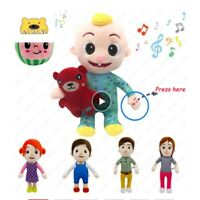 Music JJ Cocomelon Toys Doll Cocomelon Doll Sing Kids Toys for Boys Cocomelon