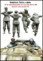1/35 Scale German Stug Crew WW2 Resin Model Kit WWII (2 Figures)