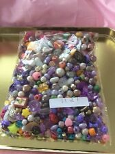 Reclaimed Mixed Jewellery bright, pretty Beads 320g Altered Art
