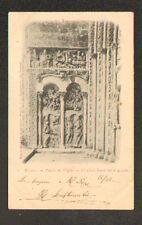 MOISSAC (82) PORCHE de l'EGLISE , BAS RELIEF de gauche en 1902