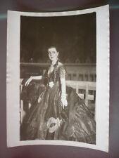 PHOTO VINTAGE YVONNE PRINTEMPS ROLE DEBUREAU 1945