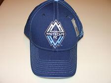 2011 Vancouver Whitecaps MLS Soccer Authentic Team Cap Flex Fit Hat Blue S/M