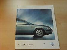 16895) VW Passat Variant Prospekt 1997