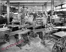 Photograph of Singer Sewing Machine's Oppenheimer's Dress Shop 1919  11x14
