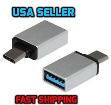 USB-C Type C 3.1 Male to USB 3.0 Female Converter Adapter OTG Function Silver