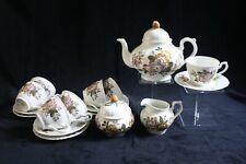 Vintage Hutschenreuther Harvest - 7-person tea service (17 pieces)