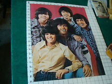 Donny Osmond Poster: folded 4 sheet Osmonds, back w 1/4 of Giant Donny