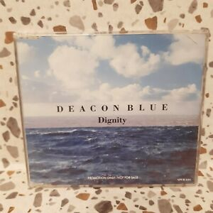 CD Promo - Deacon Blue 'Dignity' 1 Track Promo CD