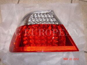 BMW E46 Convertible Genuine Left LED Taillight White Turn Signal NEW 330ci 325ci
