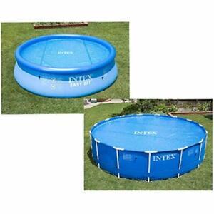 INTEX-Bâche à bulles Ø 3,66 m 366 cm, blue