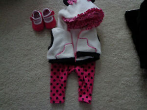 Adora Doll Clothes 3 pc. Outfit, Pink Polka Dot Hoodie, Tights & Shoes