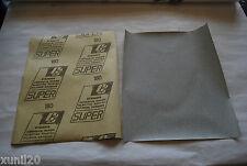 5 PZ FOGLIO CARTA ABRASIVA STEARATA GRANA 220 230X280