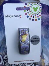 Disney World Epcot FIGMENT LIGHT PURPLE Limited Release MagicBand Magic Band
