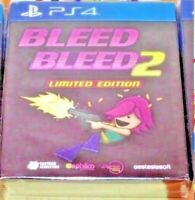 Bleed + Bleed 2 Limited Edition PS4 Multilanguage New Sealed Region Free