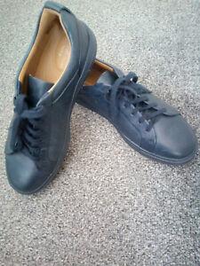 Clarks Ladies Sneakers Shoes UN MAUI LACE Navy Leather UK 5 / 38