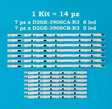 Kit barre led D2GE-390SCA-R3 D2GE-3900SCB-R3 Samsung SPEDIZIONE IMMEDIATA