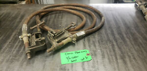 10' Chance C6002232 Flat Face Bronze Clamp 4/0GA 600V Grounding Cable lot#6