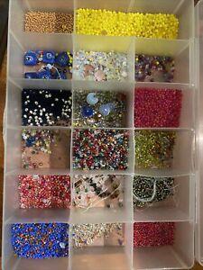 piezas Vidrio Cristal Checo Turquesa A.B Facetado Redondo Gota granos 15 X 10mm 45