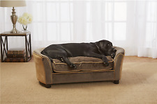 Large Dog Couch Sofa Bed Plush Soft Cozy Pet Furniture Cat Cushion Pad Kennel