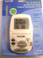 Internal Meat Thermometer Taylor Digital For Oven Probe Timer Remote Temp