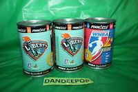 3 WNBA Basketball 1997 Tin Can With Cards New York Liberty And  Mystery Pinnacle