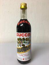 Zucca Rabarbaro Elixir Liquore Specialità Ettore Zucca 70cl 16% Vol Vintage