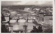 Cartolina POSTALE-FIRENZE (Firenze)/veduta dei lung 'Arni col ponti