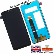 NEW TOUCH SCREEN DIGITIZER & LCD DISPLAY For Nokia X6 2018 6.1 Plus TA-1099 5.8""