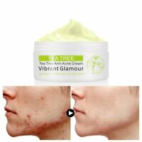 Tea Tree Acne Treatment Face Cream Oil Control Acne Scar Remover Shrink Pores