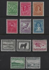 Newfoundland Part 1932 Set Mint