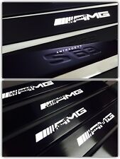Mercedes Benz S Class W221 Style AMG Led Illuminated Door Sills Panels S63 S65