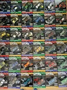 Opel Collection Eaglemoss 1:43 Auto Modelle inkl. Heft 1-120 Auto zum Wählen