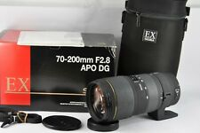 SIGMA EX 70-200MM F2.8 APO DG HSM CANON EF FIT ZOOM LENS BOXED