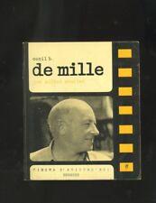 Cecil B. De Mille , Michel Mourlet, Cinema D'Aujourd'Hui - Seghers 1968  R