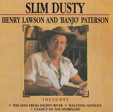 Slim Dusty Henry Lawson and Banjo Patterson Remastered 2 CD NEW