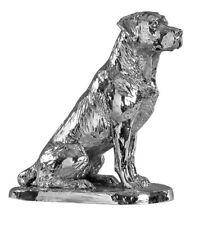 More details for hallmarked sterling silver labrador model