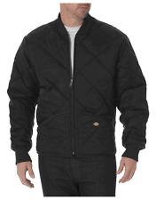 Dickies Diamond Quilted Nylon Large Jacket (Black)