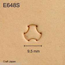Punziereisen, Lederstempel, Punzierstempel, Leather Stamp, E684S - Craft Japan
