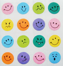 HAPPY FACES EMOJI Stickers- Sandylion Stickers - FREE SHIPPING OFFER