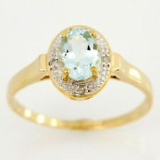 Aquamarine Yellow Natural Fine Jewellery