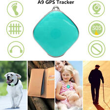 Mini A9 Quad Band GSM GPS Tracker  Locator 2-Way Talk For Elder Kids Pets Car